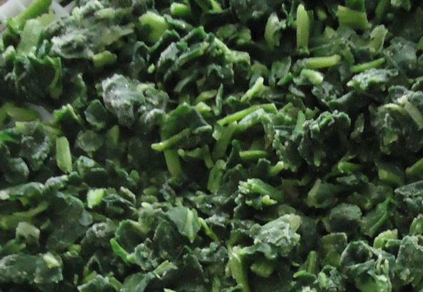 Frozen Spinach Cuts